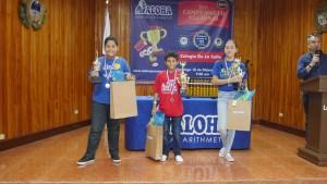 Campeones de categoría Kids de 10 y más Primero: Juan Diego Cedeño Segundo: Diego Cedeño Tercero: Roxana Chong