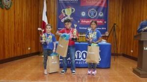 Campeones de categoría Pre-Kids de 8 y 9 años Primero: Eli Gutiérrez Segundo: Ana Victoria Urrutia Tercero: Lya Camila Palacios